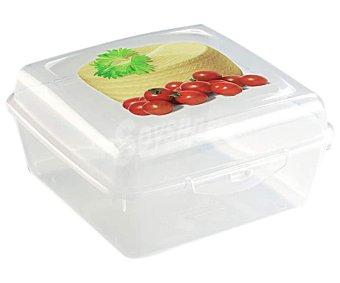 A fuego lento Recipiente hermético para queso bola, 15x15x7,5 centímetros lento