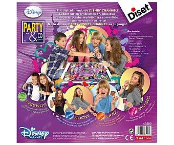DISET Juego de Mesa Multiprueba Party & Co Edición Disney, De 2 a 4 Jugadores 1 Unidad