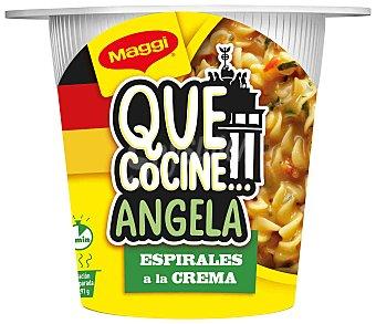 Maggi Que Cocine Angela espirales a la crema Vaso 81 g