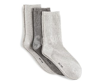 In Extenso Lote de 3 pares de calcetines para mujer Talla 39/42.
