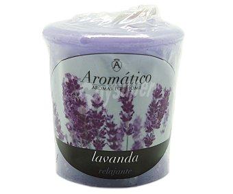 Aromático Vela perfumada con olor a chunkie de lavanda 1 unidad