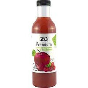 ZU Zumo de manzana-arándanos Botella 75 cl