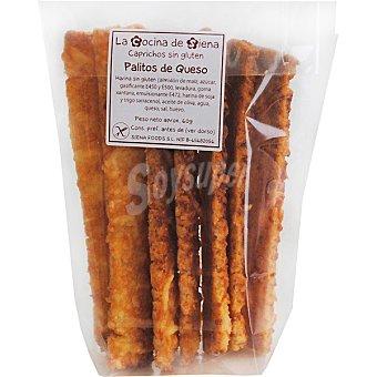 LA COCINA DE SIENA Palitos de pan con queso artesanales sin gluten Envase 60 g