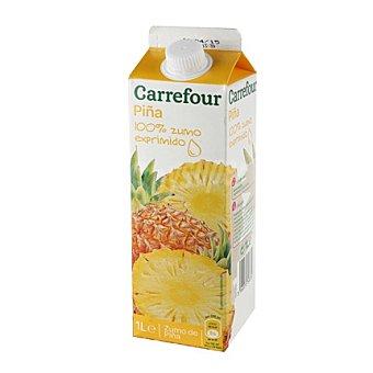 Carrefour Zumo de piña 1 l