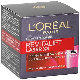 Revitalift L'Orèal Paris Crema facial de día laser l`oreal Tarro 50 ml