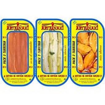 BOQUERÓN Mixto de anchoa- -mejillón iñaki Bandeja 81 g
