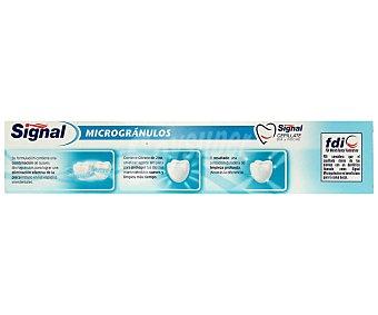 Signal Dentífrico micro gránulos Tubo 75 ml