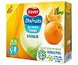 Néctar de naranja, sin azúcares añadidos Pack 3 uds x 20 cl Juver Disfruta