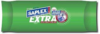 Saplex Bolsas de basura cierrafácil extra 56x62 rollo 30L Paquete 15 bolsas