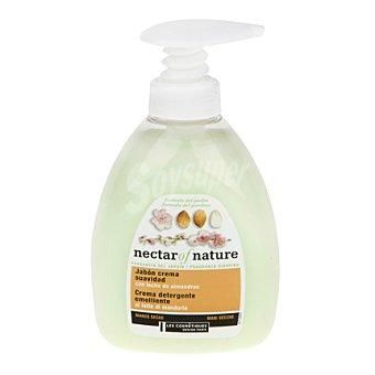 Les Cosmétiques Jabón crema suavidad con leche de almendras - Nectar of Nature 300 ml