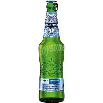 BALTIKA 7 Cerveza rubia Premium Lager rusa Botella 50 cl