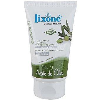 Lixone Crema de manos nutritiva de Aceite de Oliva Tubo 50 ml