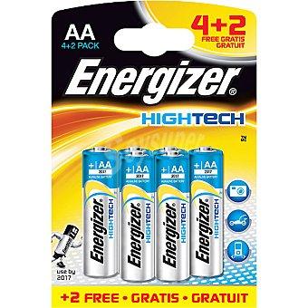ENERGIZER HIGHTECH Pila alcalina AA (lr6) blister 4 unidades + 2 gratis 4 unidades + 2 gratis