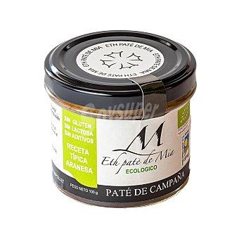 MÍA Paté de campaña ecológico Eth Paté de sin gluten y sin lactosa 100 g