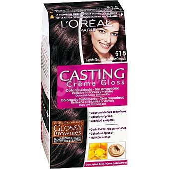 Casting Crème Gloss L'Oréal Paris Tinte 515 Castaño Chocolate 1 ud