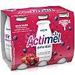 Yogur líquido L Casei con granada, arándanos y extracto de Maca 6 x 100 g Actimel Danone