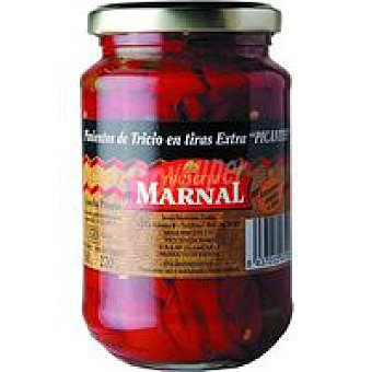MARNAL Pimiento de Tricio en tiras extra picante Tarro 270 g