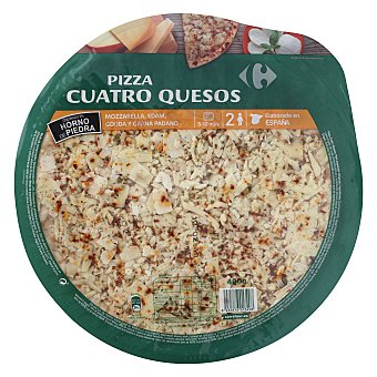 Carrefour Pizza fresca cuatro quesos 400 g