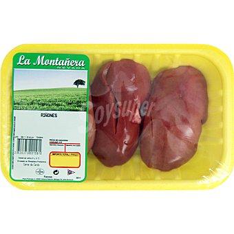 LA MONTAÑERA Riñones de cerdo peso aproximado Bandeja 400 g