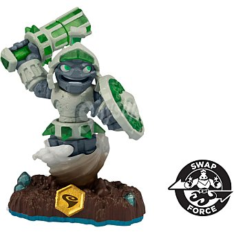 SKYLANDERS Figura Individual Swap Force Doom Stone