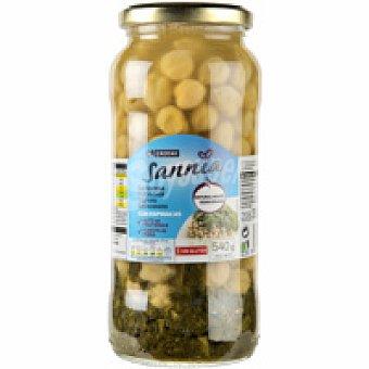 Eroski Sannia Garbanzos con espinacas Tarro 350 g