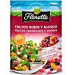 Frutos rojos y mango para ensalada Bolsa 55 g Florette