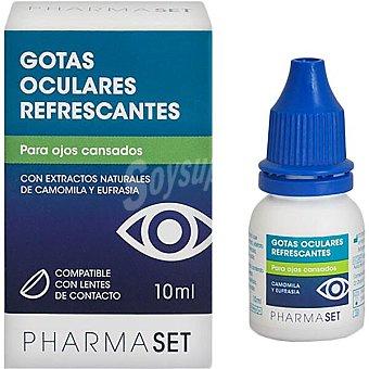 Pharmaset Gotas oculares refrescantes para Ojos Cansados con Camomila y Eufrasia 10 ml 10 ml