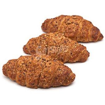 Croissant multicereal con mantequilla Unidad