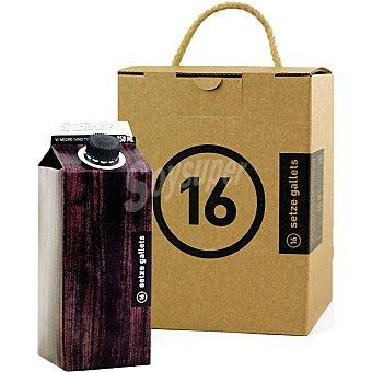 SETZE GALLETS Vino tinto de Valencia Pack 4 envases 75 cl