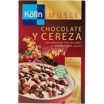 Kölln muesli chocolate y cerezas  paquete 500 g