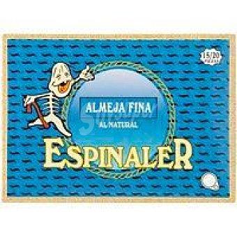 Espinaler Almeja fina 15/20 piezas Lata 125 g
