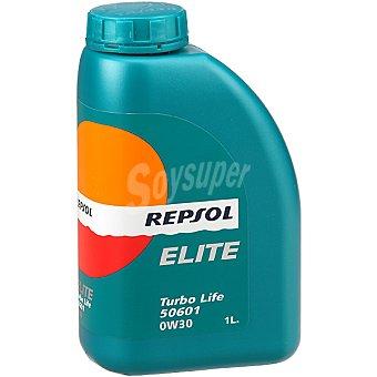 REPSOL Elite 0W30 aceite para motor Turbo Life 50601 bidón 1 l