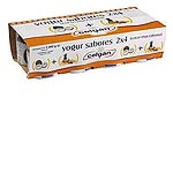 Celgan Yogur sabor macedonia y fresa Pack 8 envase 125 g