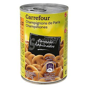 Carrefour Champiñones laminados 400 g