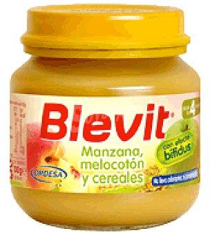 Blevit Tarrito Manzana, melocotón y cereales 130 g