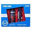 Lote infantil spiderman colonia body spray 200 ml (envase aluminio) + GEL / champu 200 ml U Marvel
