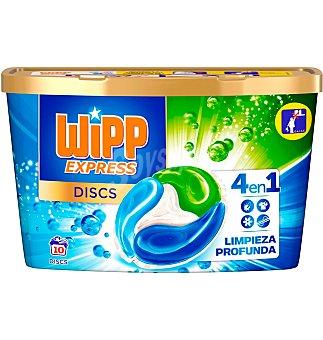 Wipp Express Cápsulas discos 10 unidades