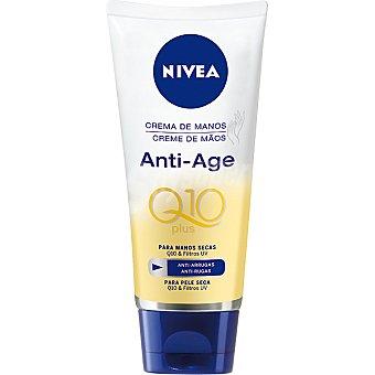 Nivea Anti Age Q10 plus crema para manos secas tamaño viaje Tubo 30 ml