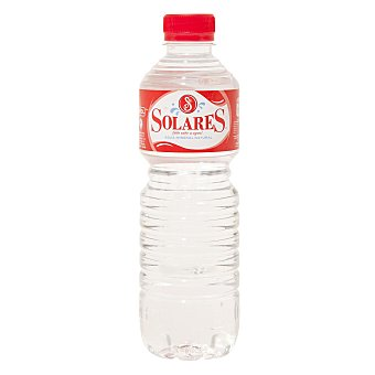 Solares Agua mineral Botella 50 cl