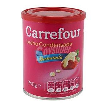 Carrefour Leche condensada desnatada 740 g