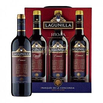 Lagunilla Lote 77: 3 botellas D.O. Ca. Rioja Lagunilla tinto crianza 75 cl