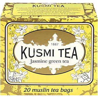 KUSMI TEA Té verde Jasmine 20 bolsitas estuche 44 g estuche 44 g