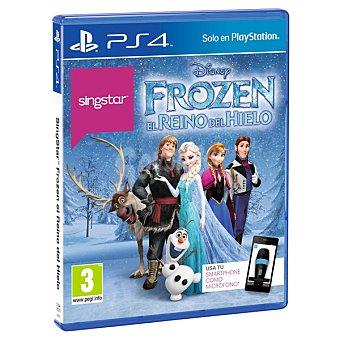 PS4 Videojuego Singstar Frozen: El Reino De Hielo 1 unidad