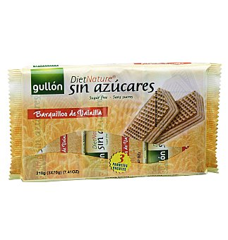 NATURE Barquillo gullon diet 210 GRS