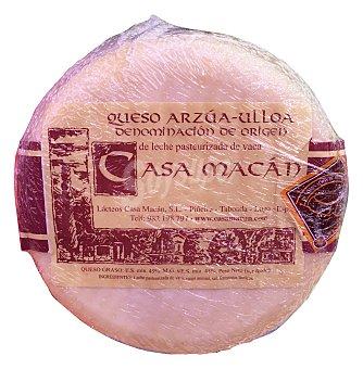 CASA MACAN Queso tierno gallego arzua ulloa 760 g peso aproximado