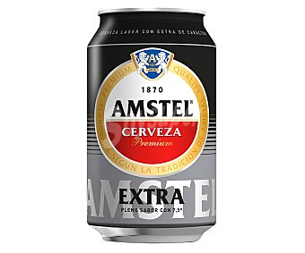 Amstel Cerveza Extra 7,5 (14% más) 37,5 cl