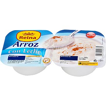 Postres Reina Arroz con leche Pack 2 unidades 140 g