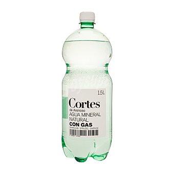 Cortes Agua con gas Botella de 1,5 l