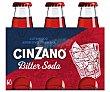 Bitter soda típico Italiano 6 x 10 cl Cinzano