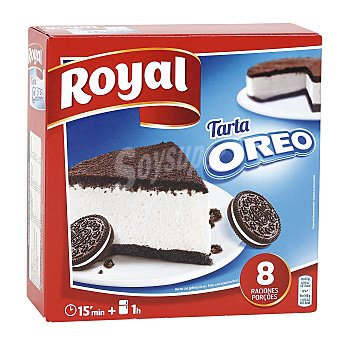 Royal Pastel Oreo Cake para preparar 8 raciones  Estuche 215 g